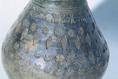 Vaso del corredo longobardo trovato nel 1930